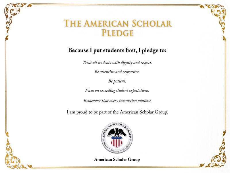 ASG Student Pledge