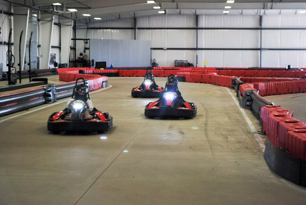 Go Karts Cleveland >> Asg Students Race Away The Day At Boss Pro Go Karting American