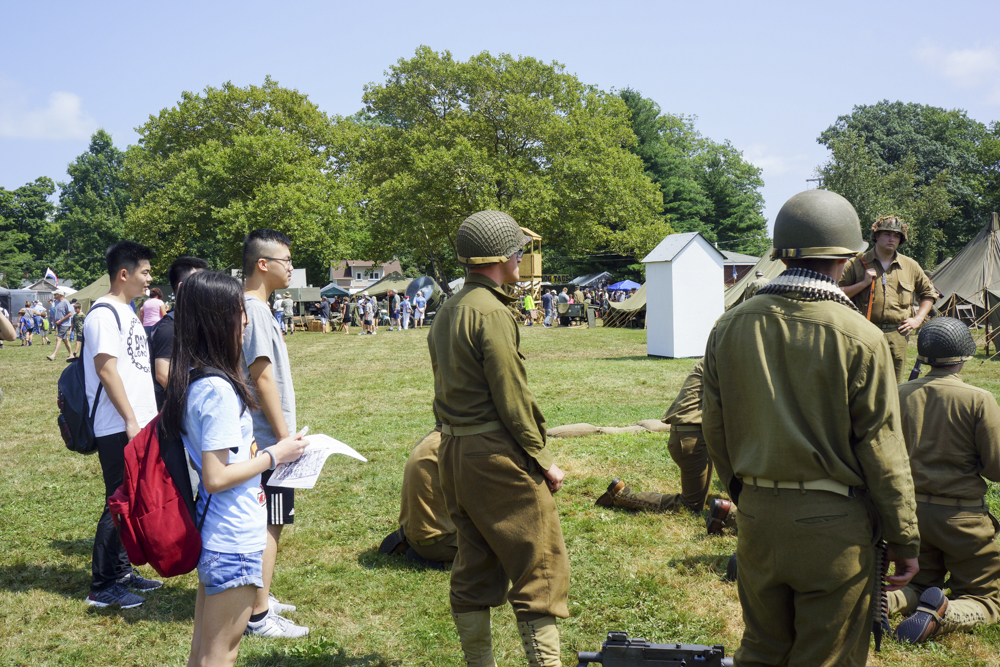 Students Attend the Annual D-Day Reenactment